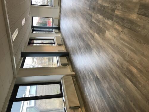 Kantoor voorzien van PVC vloer
